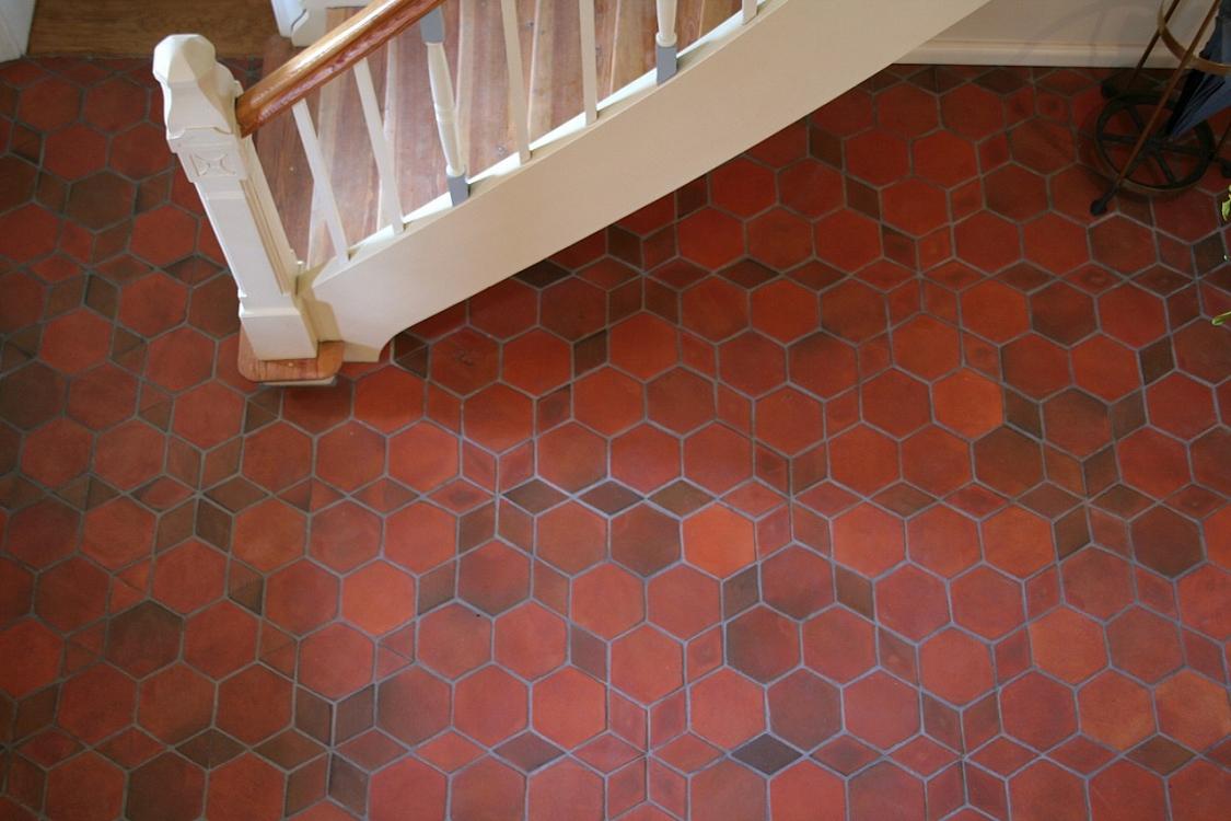 Hexagonal floor tiles terracotta hexagonal floor tiles terracotta doublecrazyfo Image collections